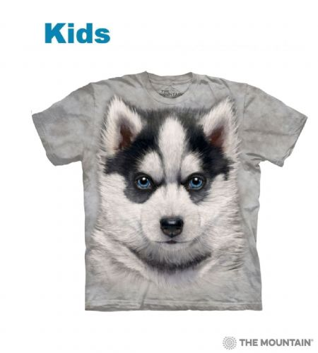 Siberian Husky Puppy - Kids Dog T-shirt - The Mountain®